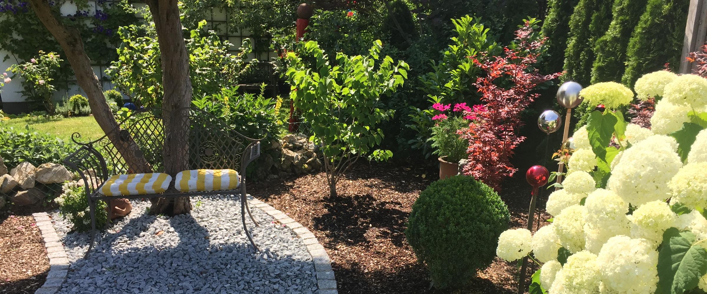 Wir machen Ihren Garten zur individuellen Wohlfühloase