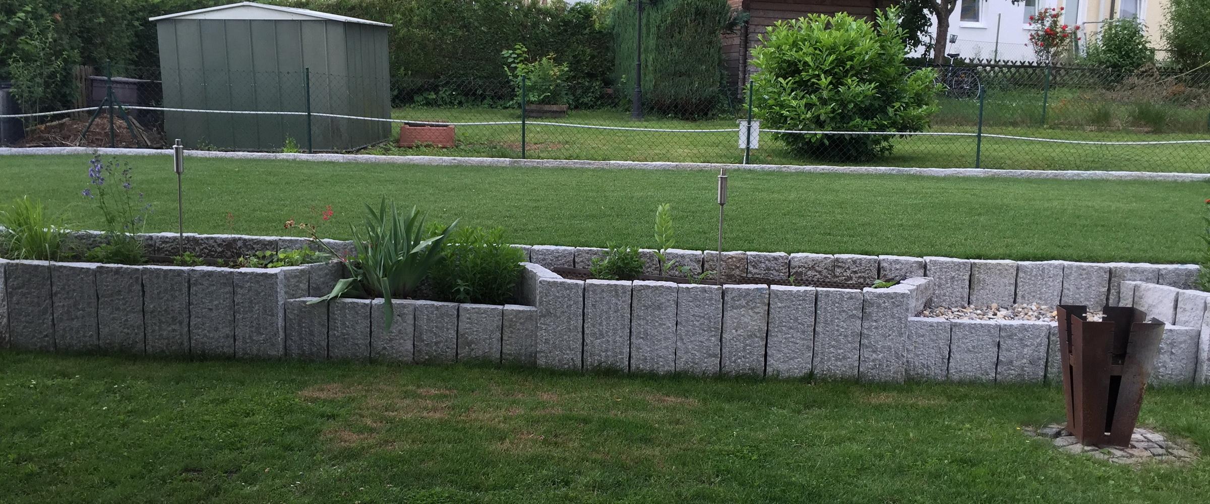 Geben Sie Ihrem Garten doch mit begrünten Hochbeeten eine individuelle Note