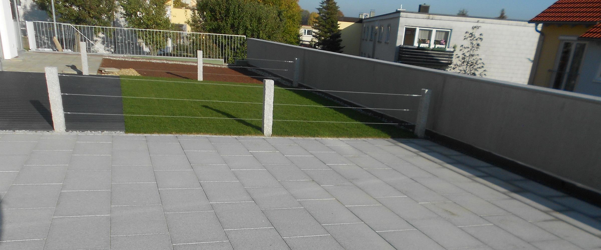 Gestalten Sie Ihren Innenhof mit Steinplatten